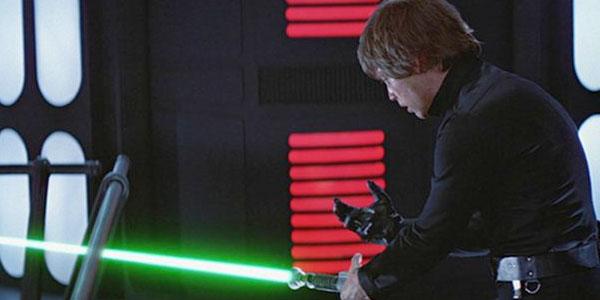 Mão artificial de Luke Skywalker em Star Wars