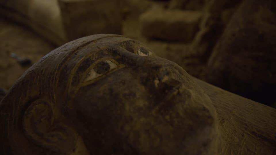 sarcófagos egípcios intactos
