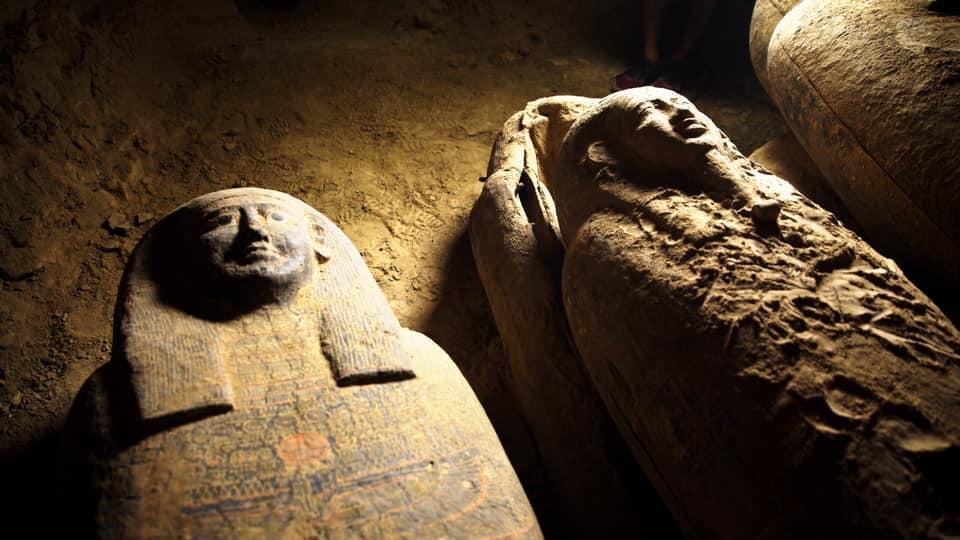 sarcófagos egípcios