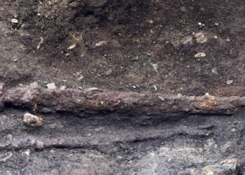 Espada viking encontrada