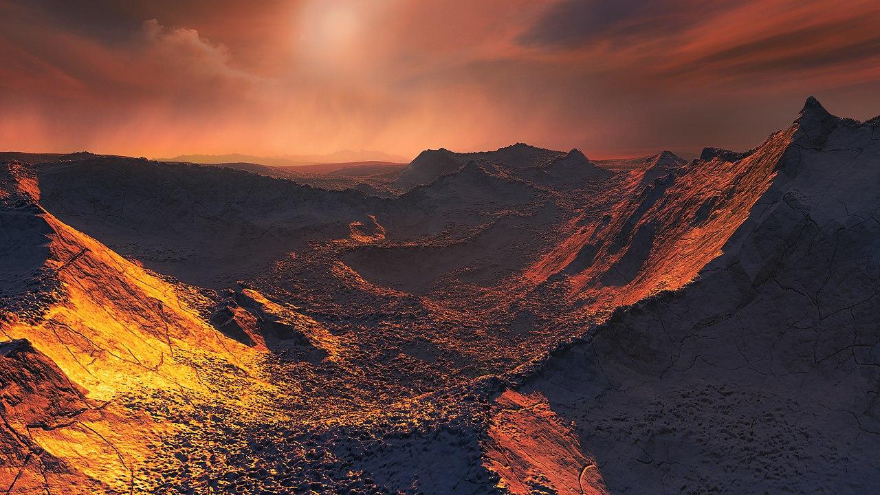 Impressão artística de uma Superterra. (Créditos da imagem: ESO / M. Kornmesser)