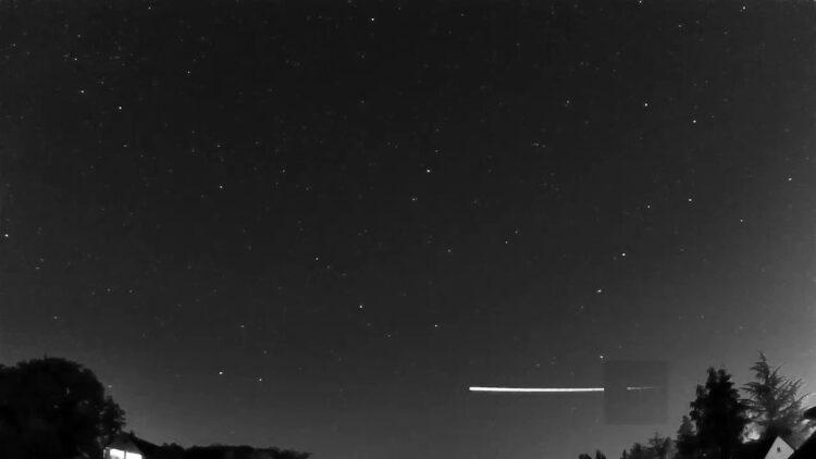 (Créditos da imagem: Global Meteor Network).