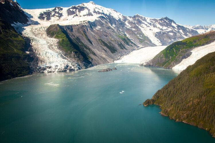 Enseada do Príncipe Willian, Alasca.