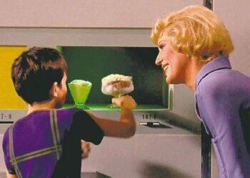 Gerador de alimentos em Star Trek.
