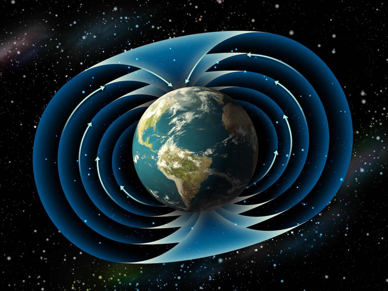 campo magnético terra e lua