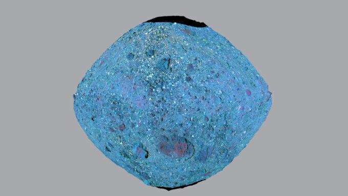 asteroide Bennu possuía rios
