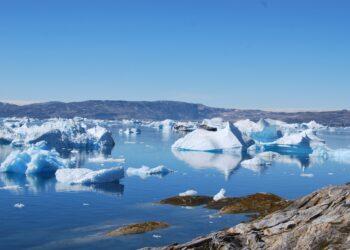 O oceano ártico não formou gelo