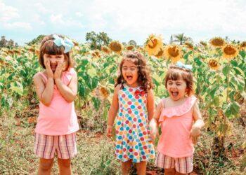 Crianças melhoram a imunidade ao brincarem na vegetação em creches