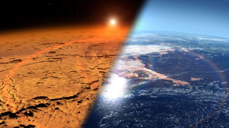 Marte pode já ter sido como a Terra. (NASA's Goddard Space Flight Center).