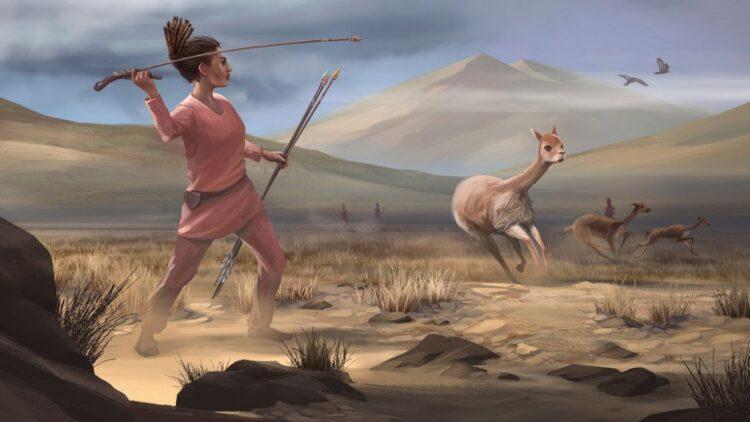 caçadora de 9000 anos