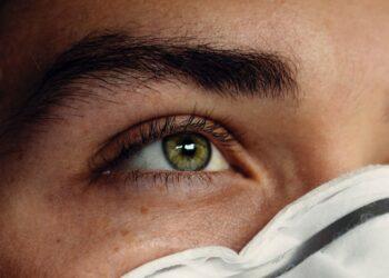 tecido do olho humano