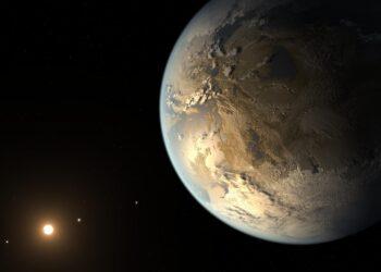 Utilizar o Sol como lente gravitacional permitira captar detalhes nos exoplanetas próximos. (NASA Ames/SETI Institute/JPL-Caltech).