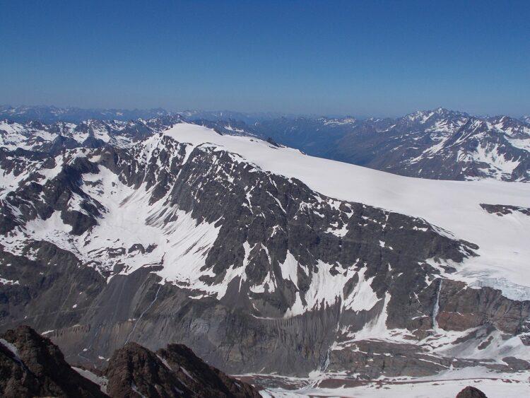 Geleira de Weißseespitze. (32-Fuß-Freak / Wikimedia Commons).