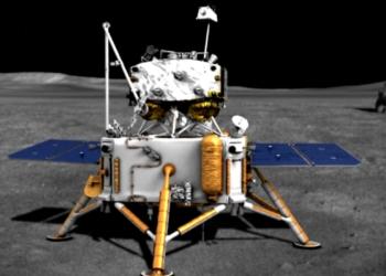 Ilustração da sonda Chang'e 5. (CSNA).
