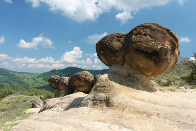 Trovant nas montanhas de Buzăului, na Romênia. (Imagem de Nicubunu do Wikimedia Commons)