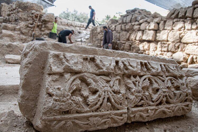 (Imagem de Yaniv Berman da Autoridade de Antiguidades de Israel)