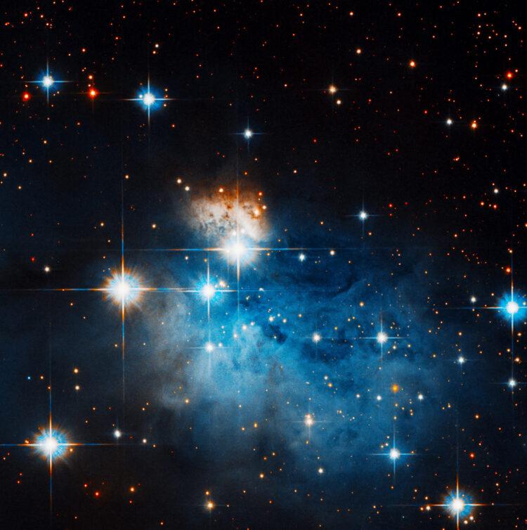 Caldwell 99. (NASA, ESA, and R. Sahai (Jet Propulsion Laboratory); Processing: Gladys Kober (NASA/Catholic University of America).