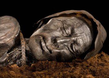 pele das múmias egípcias