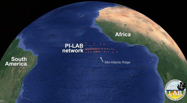 Fenômeno misterioso no oceano atlântico