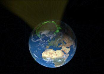 Polo norte da terra
