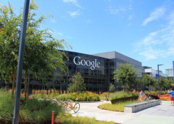 Googleplex, na Califórnia.  (Denvit / Wikimedia Commons)