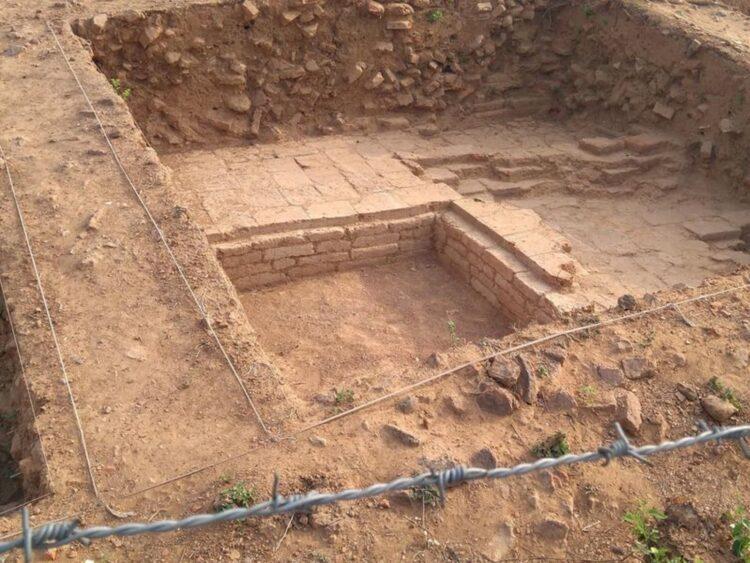 local de escavação lal_pahari
