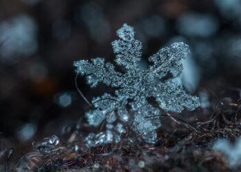 Como se formam os flocos de gelo?