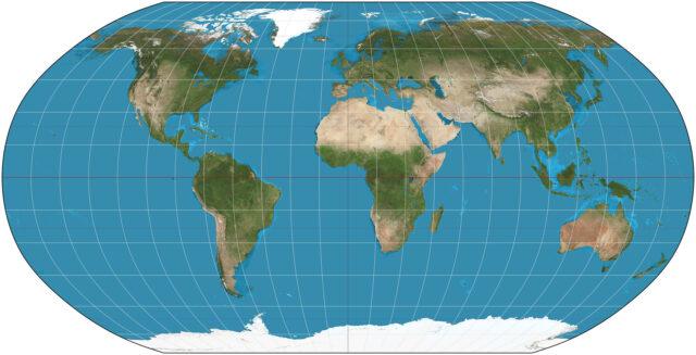 o mapa 2D mais preciso já feito