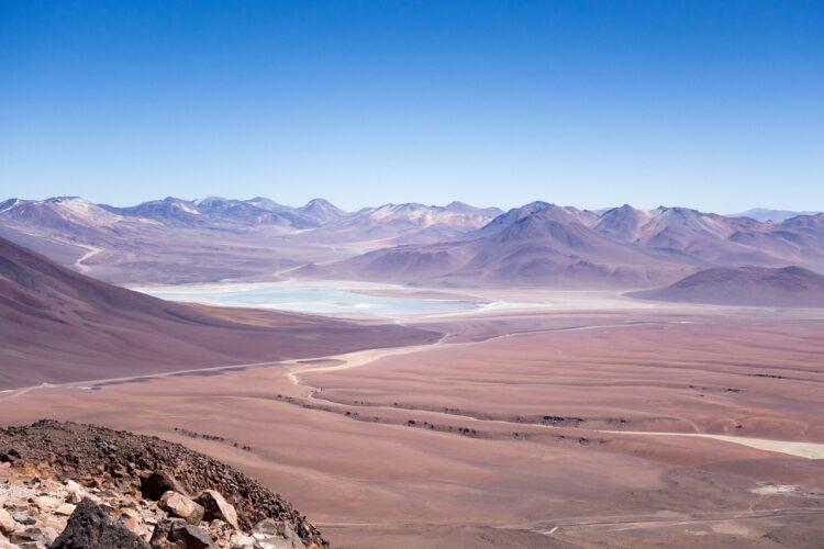Deserto mais seco do mundo - atacama