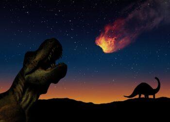 origem do asteróide que matou os dinossauros