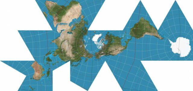 mapa 2D mais preciso já feito