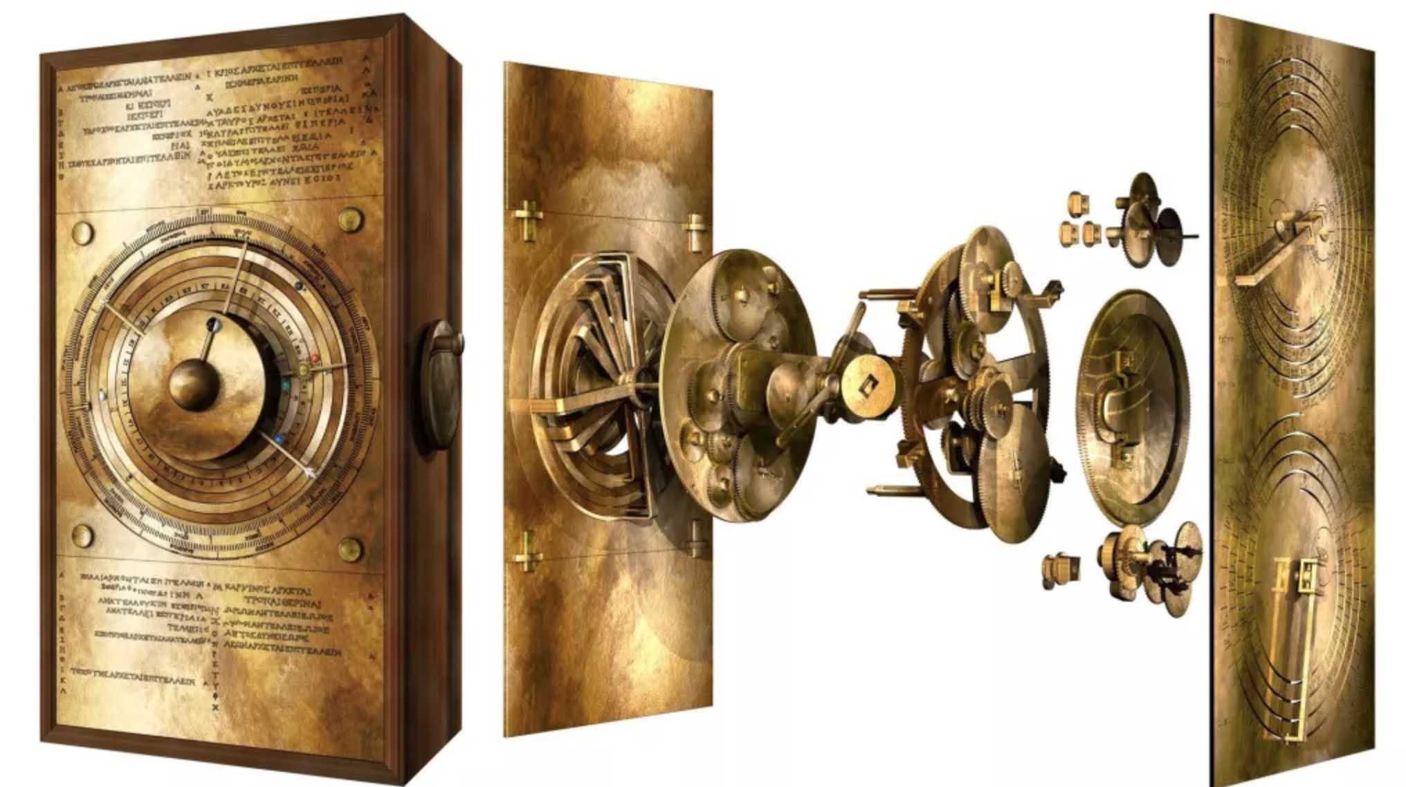 Computador mais antigo antikythera