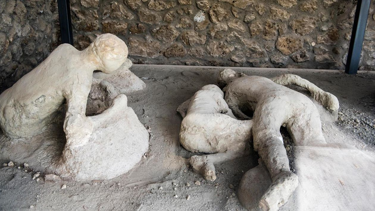 Vesúvio matou moradores de pompeia em apenas 17 minutos