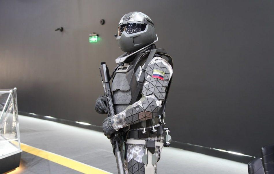 armadura de combate