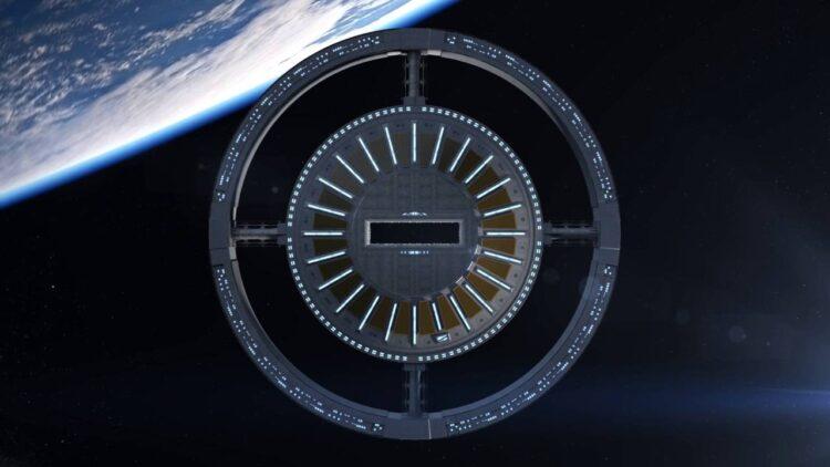 Um dos protótipos da Estação Espacial. (Gateway Foundation)