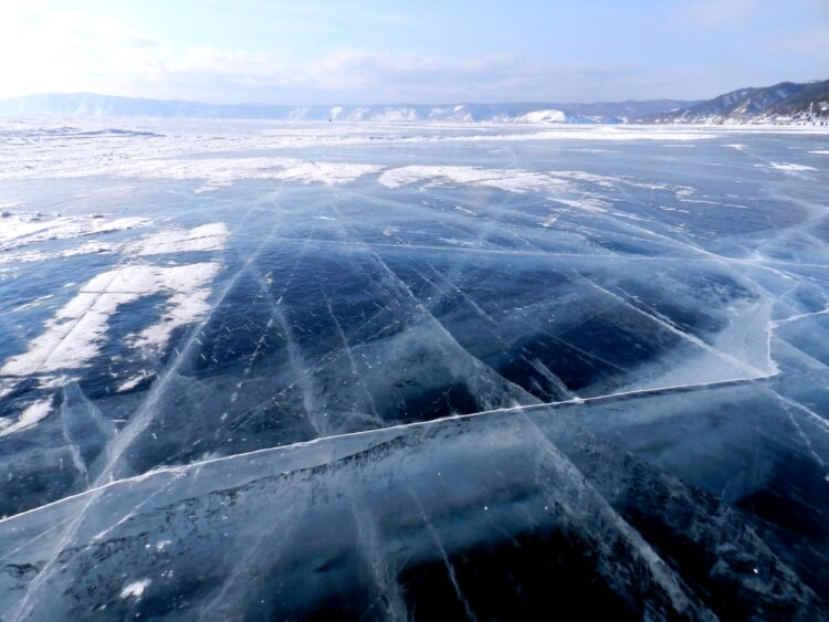Lago Baikal congelado.