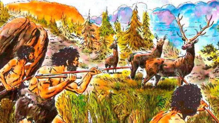 Caçadores-coletores do período neolítico.
