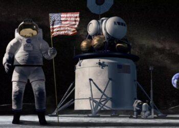 O programa Ártemis da NASA está trabalhando para devolver os humanos à Lua até 2024 e estabelecer uma presença permanente lá até o final da década. (NASA)