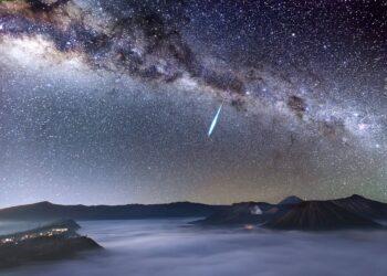 Chuva de meteoros Eta Aquáridas atinge seu pico essa semana