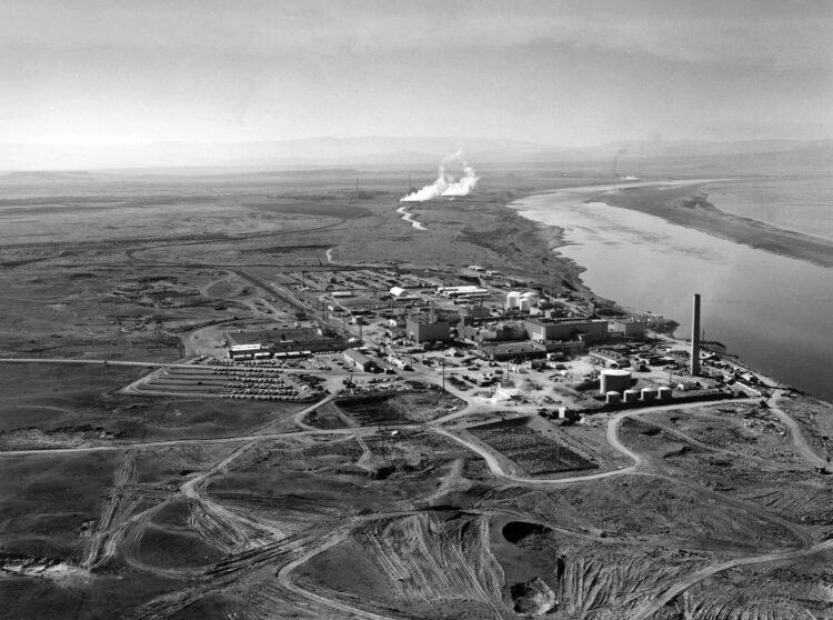 Um dos tanques de resíduos radioativos de Hanford Site está vazando de forma alarmante. Imagem: United States Department of Energy