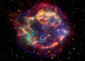 Pesquisadores encontraram, no fundo do Oceano Pacífico, resquícios de uma possível supernova que ocorreu perto da Terra. Imagem: WikiImages/Pixabay