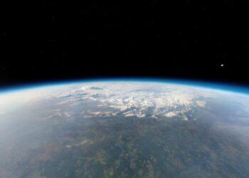 gases de efeito estufa estão contraindo a estratosfera
