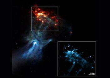 Imagem: NASA/SAO/NCSU/Borkowski et al.
