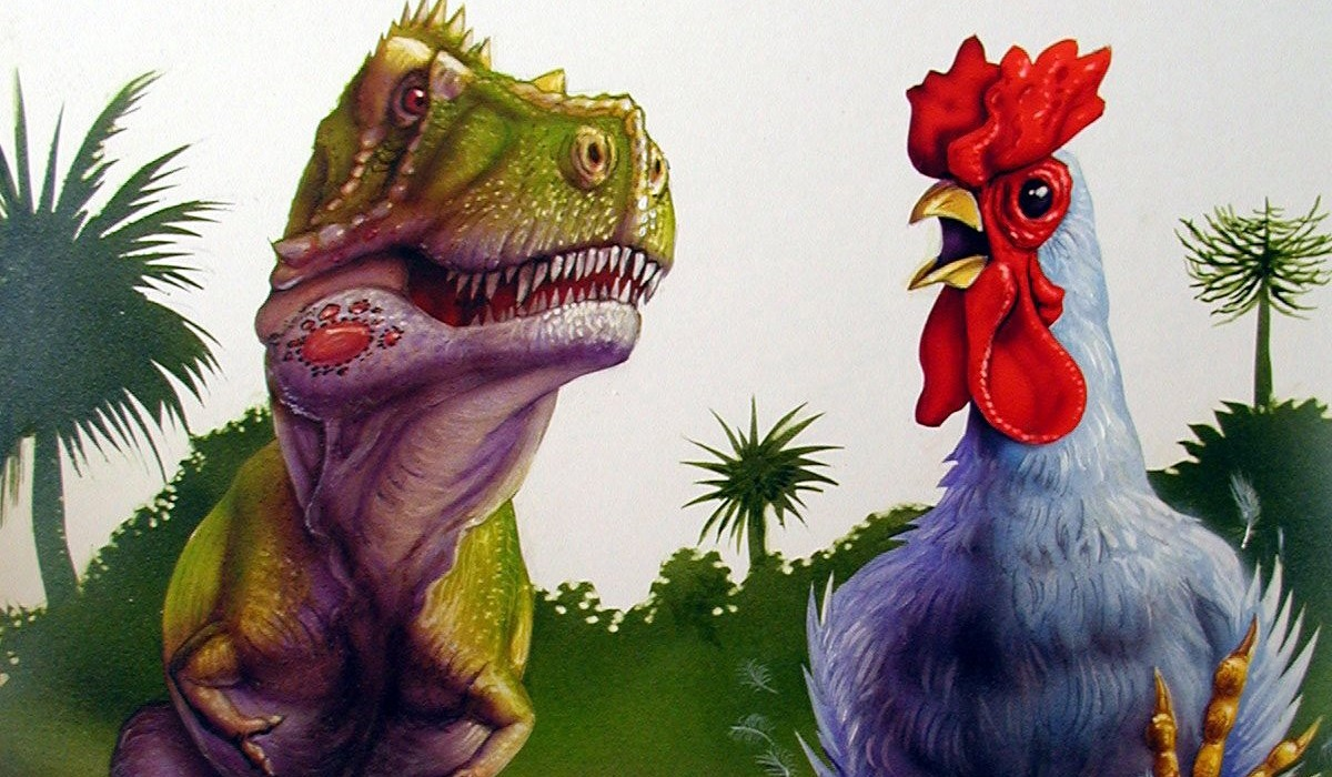 semelhanças entre dinossauros e aves