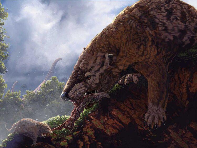 Um grupo de mamíferos pode ter sido o responsável, ao invés dos dinossauros, por limitar a evolução de placentários e marsupiais. Imagem: Corbin Rainbolt