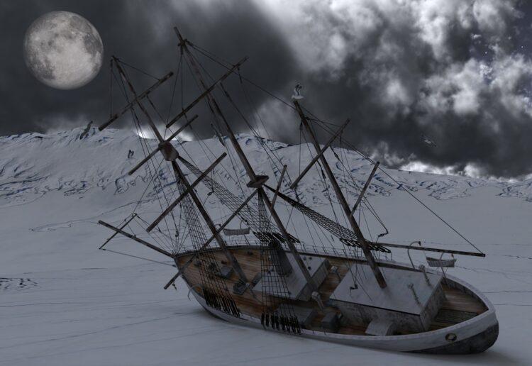Uma nova expedição deve partir em 2022 para encontrar o navio perdido Endurance. Imagem: Noupload/Pixabay