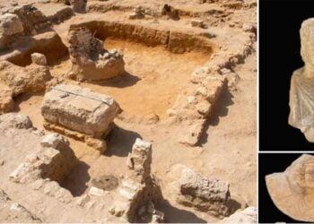Estátua de Alexandre, o Grande e outros pertences foram encontrados