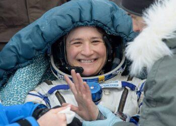 Serena Auñón-Chancellor. Imagem: Reprodução/ NASA