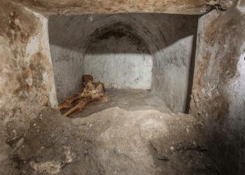 Imagem: Alfio Giannotti/Pompeii Archeological Park via AP