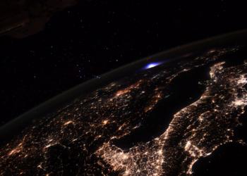 Imagem: ESA/NASA–T. Pesquet